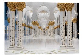 Metacrilato  famous Sheikh Zayed mosque