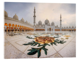 Metacrilato  Place of the Sheikh Zayed Grand Mosque