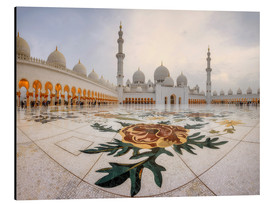 Aluminio-Dibond  Place of the Sheikh Zayed Grand Mosque