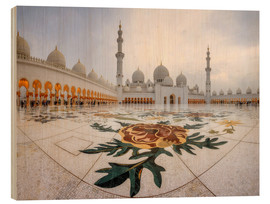Madera  Place of the Sheikh Zayed Grand Mosque