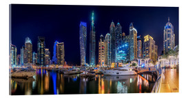 The fascination of Dubai Marina Bay