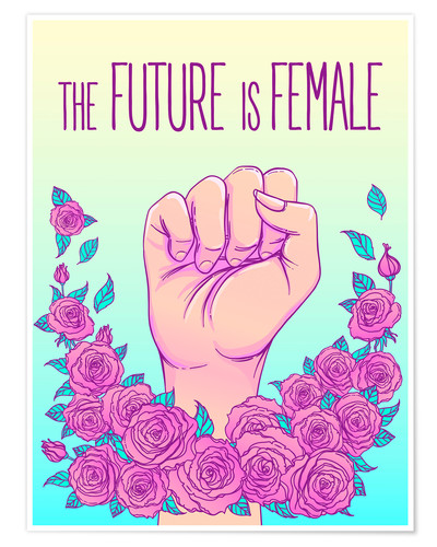 Póster The future is female