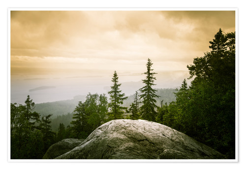 Póster Panorama of Koli National Park