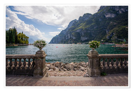 Póster  Lake Garda in the summer - Dennis Fischer