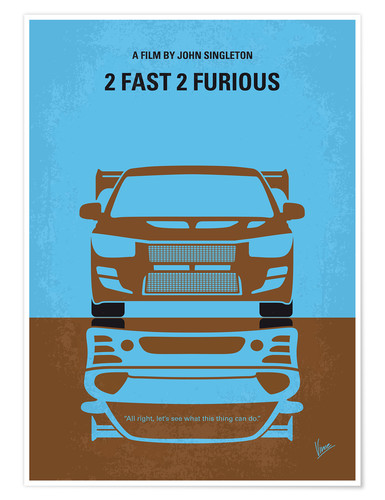 Póster 2 Fast 2 Furious