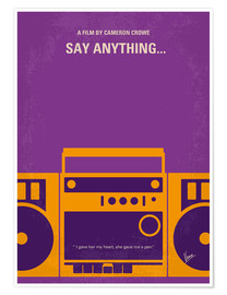 Póster  Say Anything... - chungkong