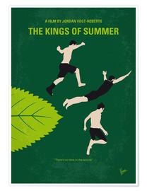 Póster No865 My The Kings of Summer minimal movie poster