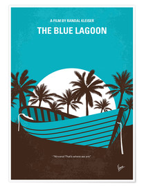 Póster The Blue Lagoon