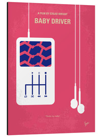 chungkong - No872 My Baby Driver minimal movie poster