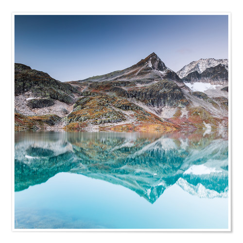 Póster High Tauern - Weißsee Glacier World