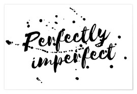 Póster perfectly imperfect