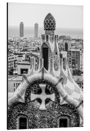 Impressive architecture and mosaic art at Park Guell