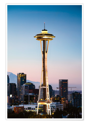 Póster The Space Needle, Seattle, USA