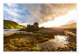Póster  Eilean Donan Castle in the Highlands, Scotland - Dieterich Fotografie