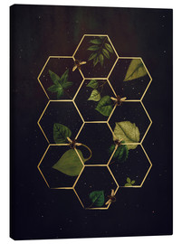 Lienzo  bees in space - Sybille Sterk