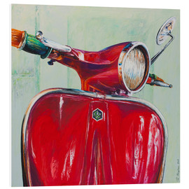 Forex  Vespa red - Renate Berghaus
