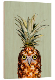Madera  PINEAPPLE OWL - Jonas Loose
