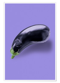 Póster EGGPLANT WHALE