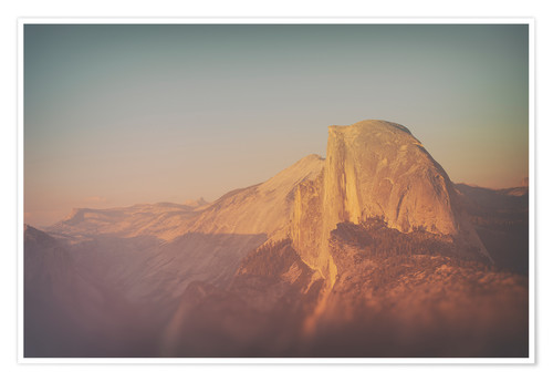 Póster Half Dome XII