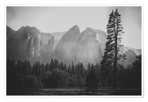 Póster In the Yosemite valley