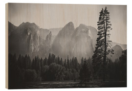 Cuadro de madera  In the Yosemite valley - Pascal Deckarm