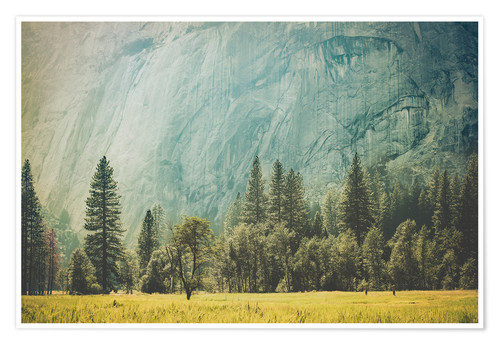 Póster Yosemite Valley