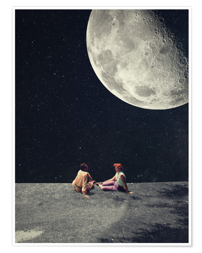 Póster I Gave You The Moon For A Smile