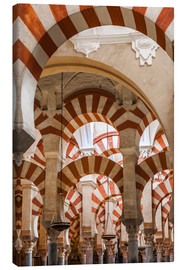 Lienzo  The Mosque of Cordoba