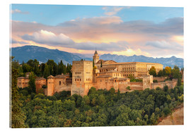 Metacrilato  Alhambra with Comares tower