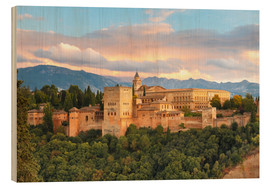 Madera  Alhambra with Comares tower