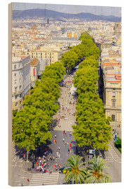 Barcelona and Las Ramblas with the Columbus Column