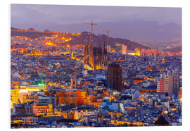 Forex  Aerial view Barcelona