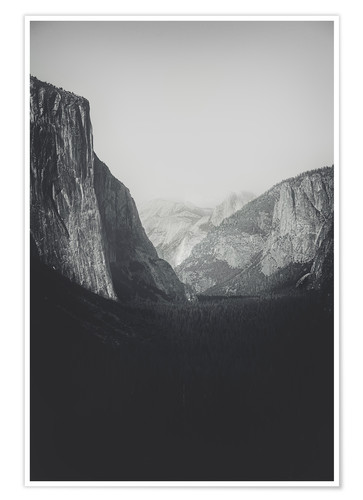 Póster Yosemite Valley VI