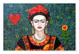 Madalena Lobao-Tello - Frida, queen of hearts closer