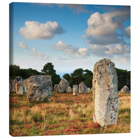 Lienzo  Megaliths in Carnac