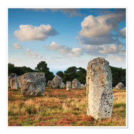 Póster  Megaliths in Carnac