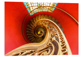 Forex  Spiral staircase in Brittany
