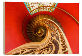 Madera  Spiral staircase in Brittany