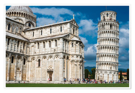 Póster Leaning Tower of Pisa