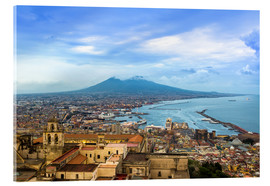 Cuadro de metacrilato  Naples and Mount Vesuvius