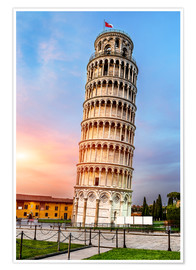 Póster Pisa, place of miracles