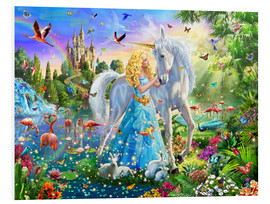Forex  31184 The Princess, the Unicorn and the Castle - Adrian Chesterman