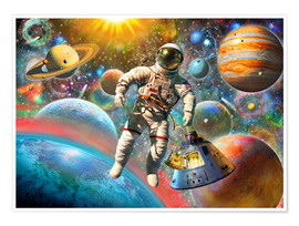 Adrian Chesterman - 30843 Astronaut Floating in Space