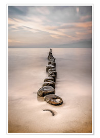 Póster Walk the way Usedom