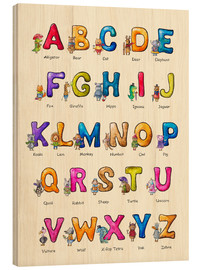 Madera  English ABC for Children - Elena Schweitzer