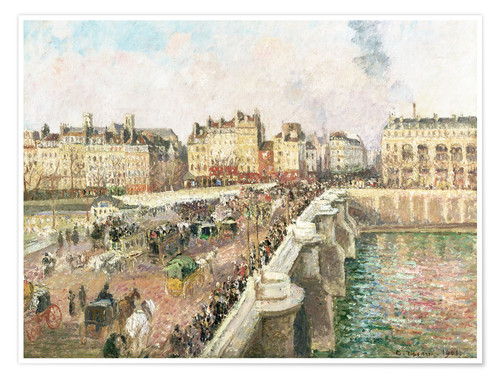 Póster Le Pont Neuf
