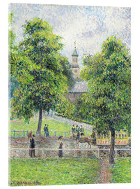 Cuadro de metacrilato  the ey exhibition impressionists in london exhibition the tate britain - Camille Pissarro
