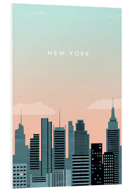 Forex  New York Illustration - Katinka Reinke
