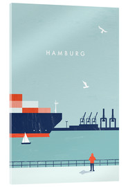 Metacrilato  Hamburg Illustration - Katinka Reinke
