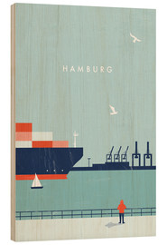 Madera  Hamburg Illustration - Katinka Reinke